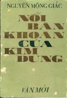 Nỗi Băn Khoăn Của Kim Dung