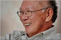 Nhà văn Nguyễn Mộng Giác (Ảnh: Bình Hoàng)