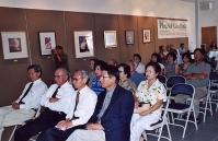 Phạm Xuân Đài, Nguyễn Mộng Giác, Tiến Sĩ Trần Huy Bích và Song Thao, Cali, 2003