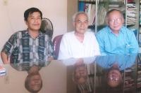 Nguyễn Thanh Mừng, Tạ Chí Đại Trường và Nguyễn Mộng Giác, Qui Nhơn, 2006
