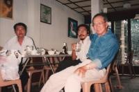 Hoàng Ngọc Tuấn, Nguyễn Tôn Nhan và Nguyễn Mộng Giác, ở Sài Gòn, 1995