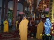 Lễ cầu siêu ở Thiền Viện Vạn Hạnh 14.7.2012