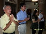 Quang cảnh buổi Lễ cầu siêu