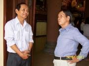 Thầy Hoàng Hữu Dũng và Thầy Châu Văn Thuận