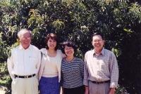 Nguyễn Mộng Giác, Lê Quỳnh Mai, chị Nguyễn Khoa Diệu Chi (vợ NMG), Tiến Sĩ Mai Thanh Truyết