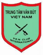 Huy hiệu Trung Tâm Văn Bút Việt Nam